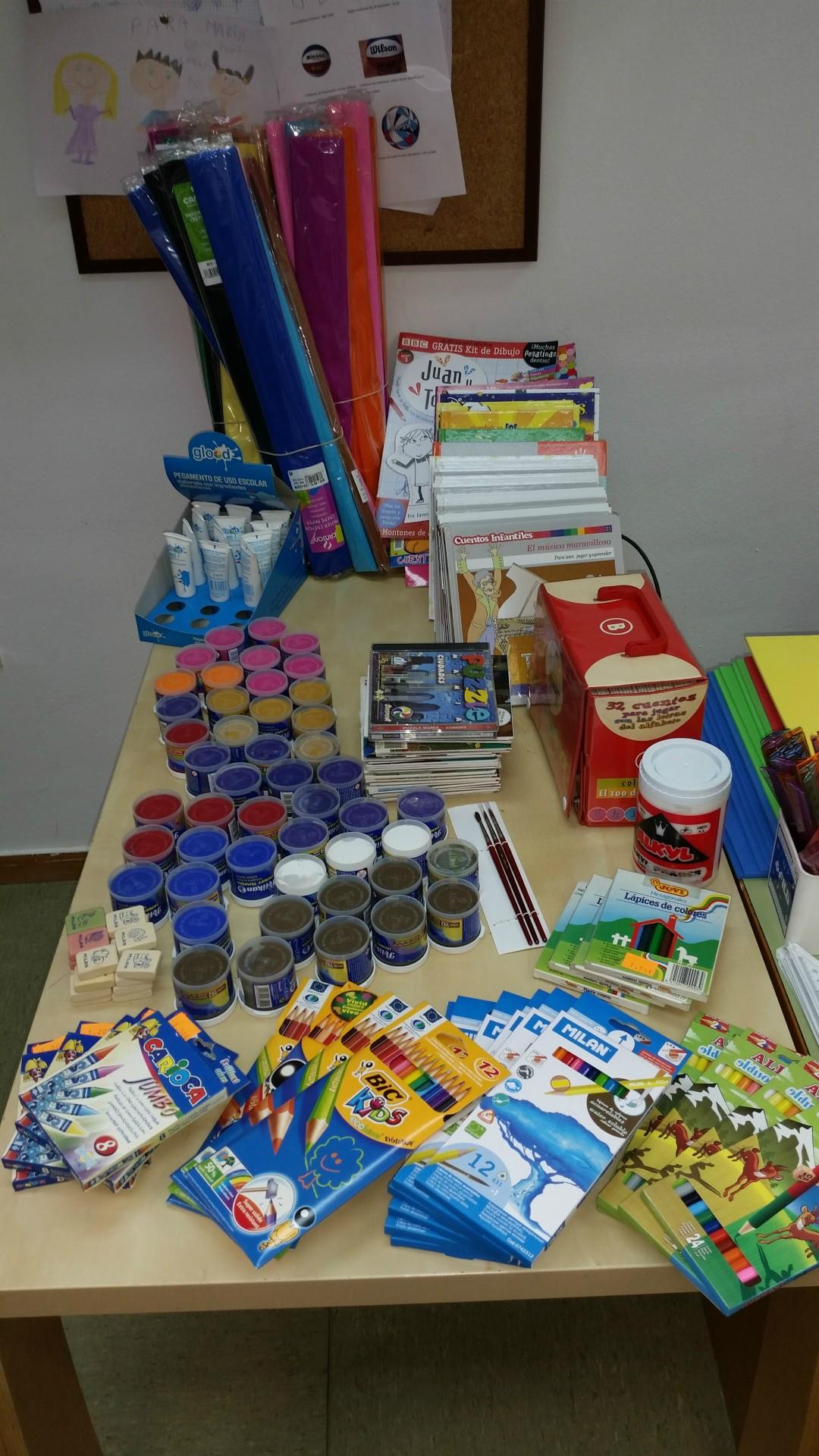 Donación Material