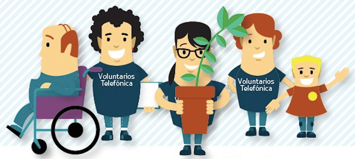 Jornada multideportiva por el día internacional Voluntario Telefónica 2016