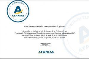 invitación acto afanias