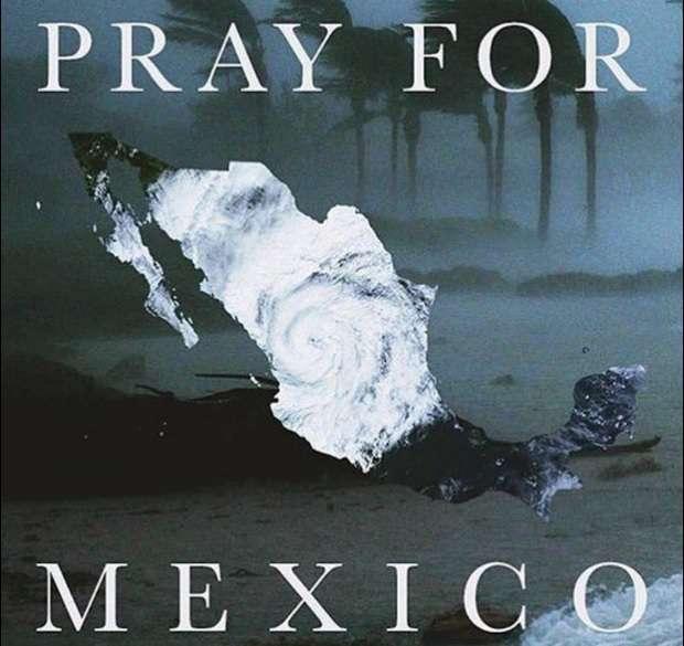 Fuerza y apoyo a México
