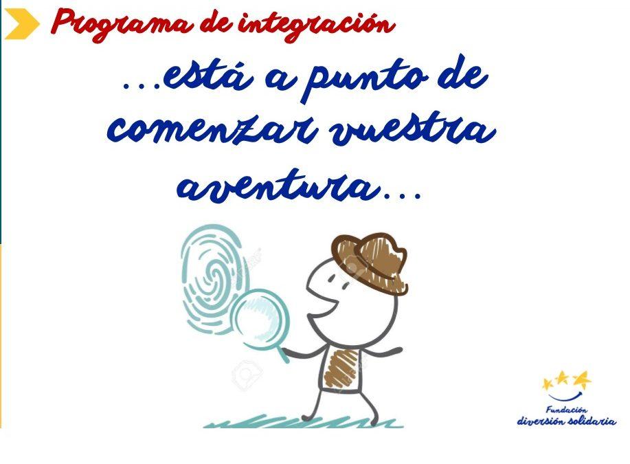 ¡Comenzamos con el programa de integración!
