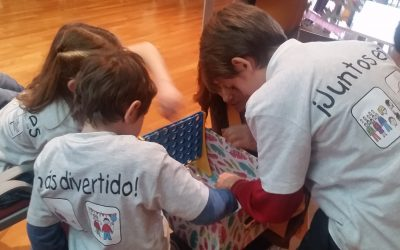 Primera actividad del programa de integración de Diversión Solidaria