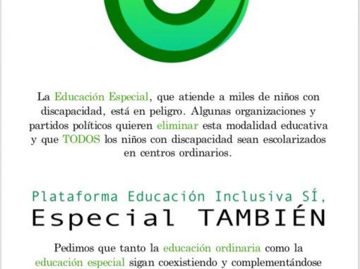 ILP de escolarización inclusiva