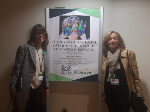 Asistimos al I Congreso Nacional de Educación Especial con una ponencia y una comunicación